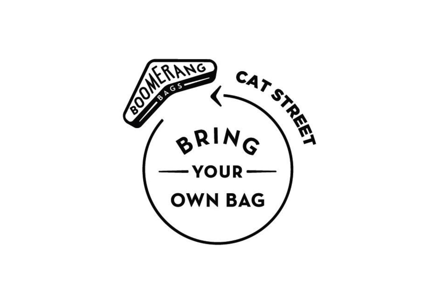 Boomerang Bags @Cat Street & Aoyama Farmers Market